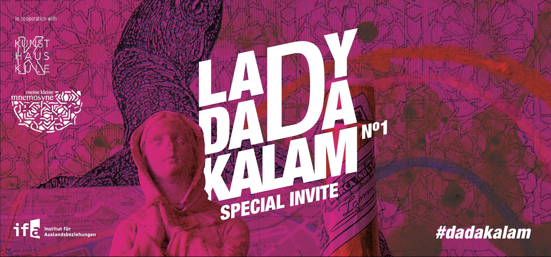 invite lady dada kalam current