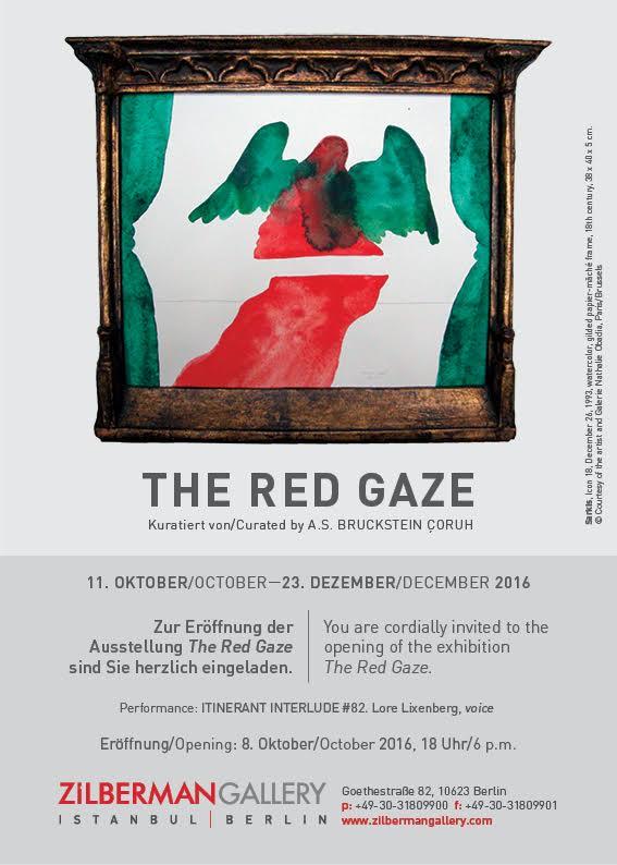 The Red Gaze. E-Mail Invite